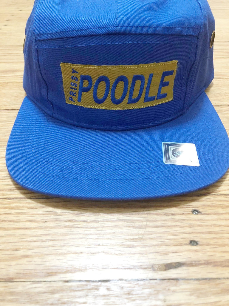 Prissy Poodle 5 Panel Hat - The Carter Brand - Black By Popular Demand - Rooting For Everybody Black - Black Pride Apparel