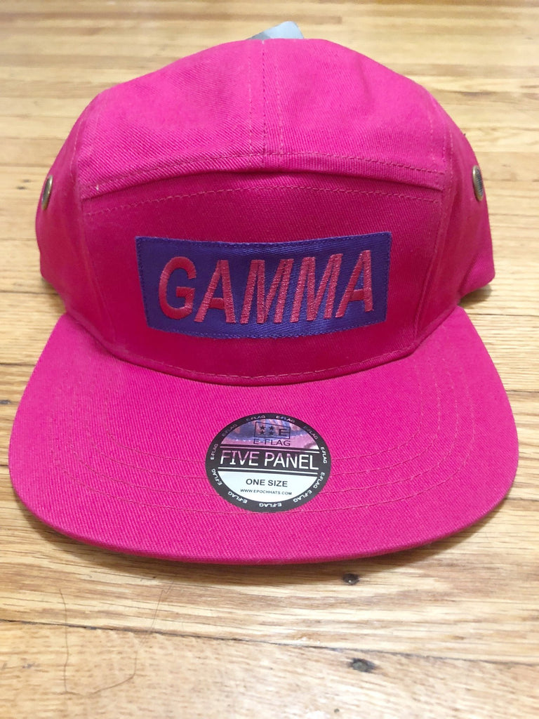 Gamma 5 Panel Hat - The Carter Brand - Black By Popular Demand - Rooting For Everybody Black - Black Pride Apparel