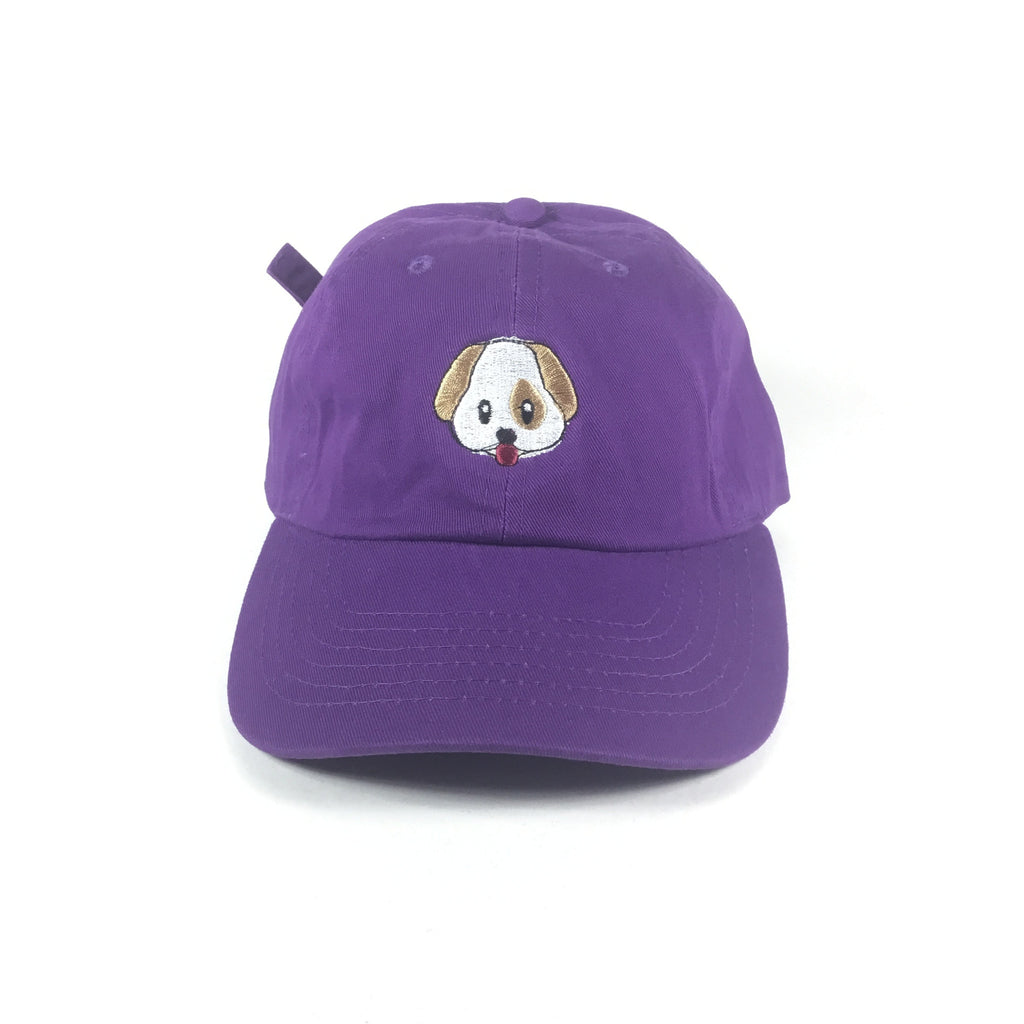 Dog Emoji Hat - The Carter Brand - Black By Popular Demand - Rooting For Everybody Black - Black Pride Apparel