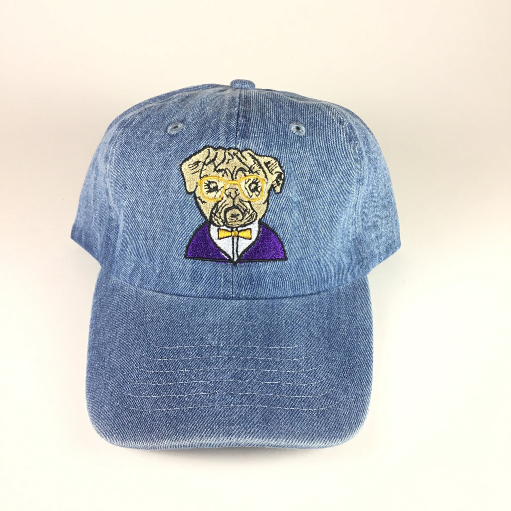 Dapper Bulldog Cap - The Carter Brand - Black By Popular Demand - Rooting For Everybody Black - Black Pride Apparel