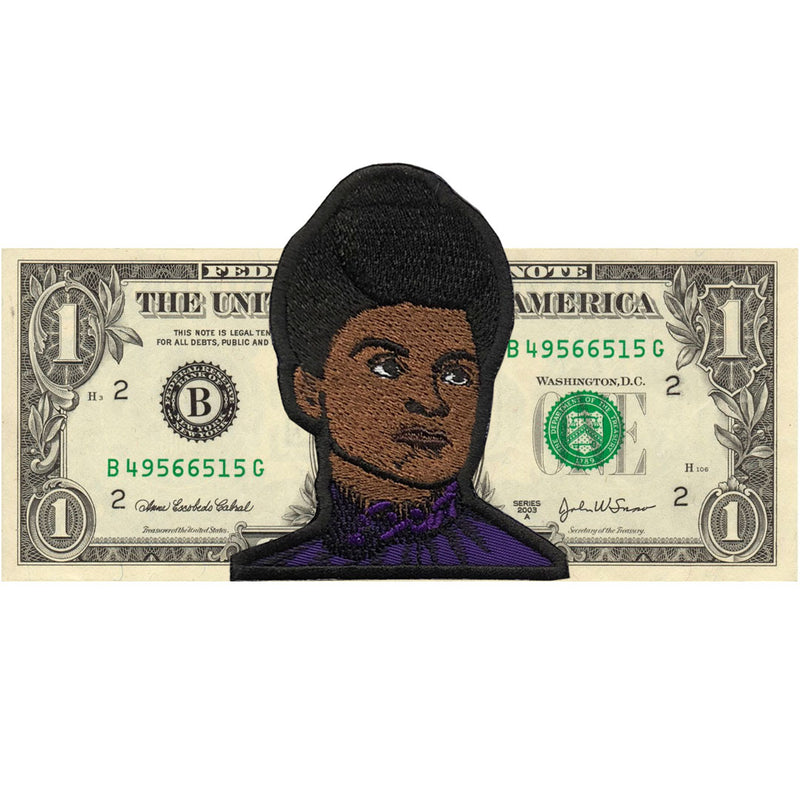 Ida B. Wells Patch - The Carter Brand - Black By Popular Demand - Rooting For Everybody Black - Black Pride Apparel