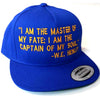 Invictus Blue & Gold Snapback Hat - The Carter Brand - Black By Popular Demand - Rooting For Everybody Black - Black Pride Apparel