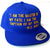 Invictus Blue & Gold Snapback Hat