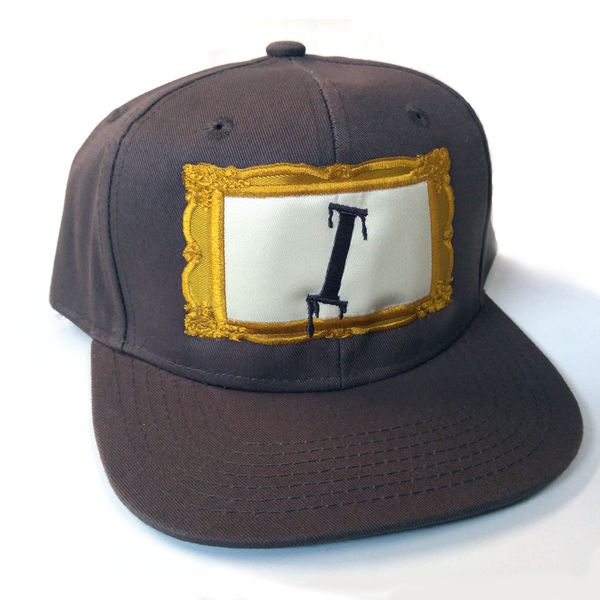 Iota Frame Snapback - The Carter Brand - Black By Popular Demand - Rooting For Everybody Black - Black Pride Apparel