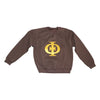 Iota Crewneck Sweatshirt - The Carter Brand - Black By Popular Demand - Rooting For Everybody Black - Black Pride Apparel