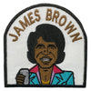 James Brown Patch - The Carter Brand - Black By Popular Demand - Rooting For Everybody Black - Black Pride Apparel