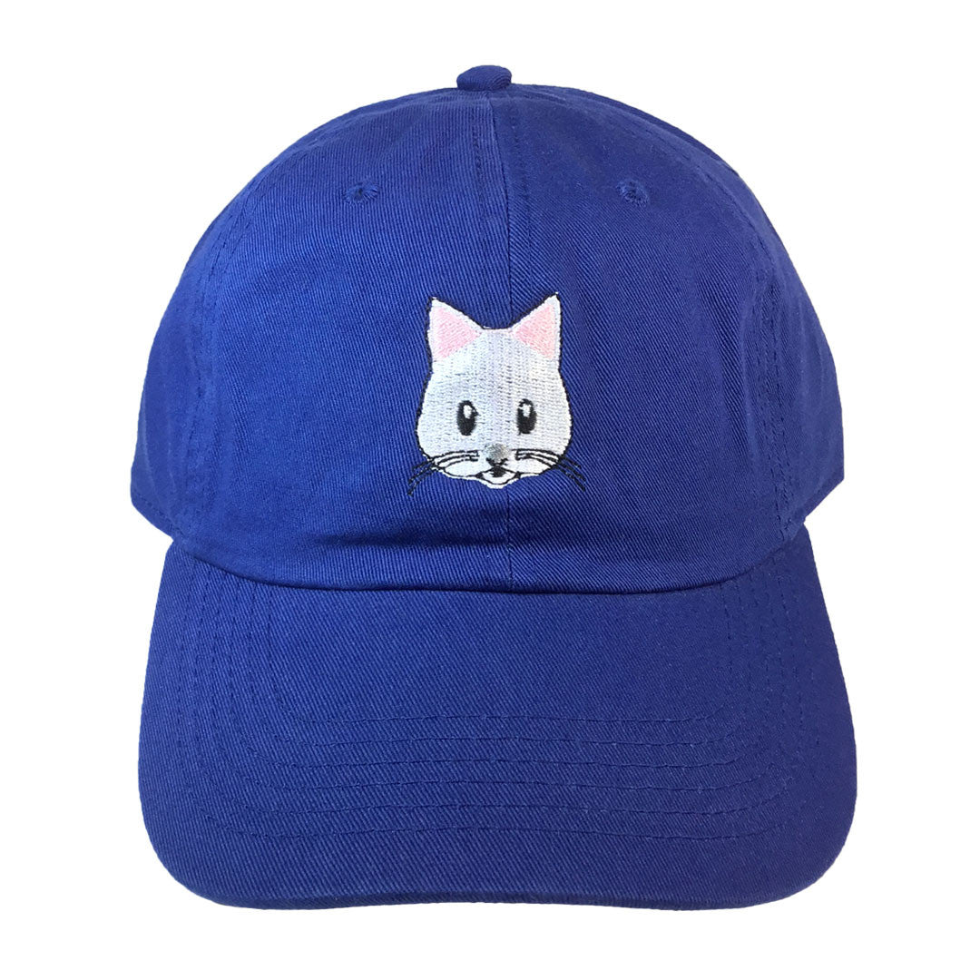 Kitty Emoji Hat - The Carter Brand - Black By Popular Demand - Rooting For Everybody Black - Black Pride Apparel