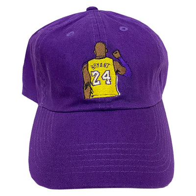 Kobe Forever Embroidered Hat - The Carter Brand - Black By Popular Demand - Rooting For Everybody Black - Black Pride Apparel