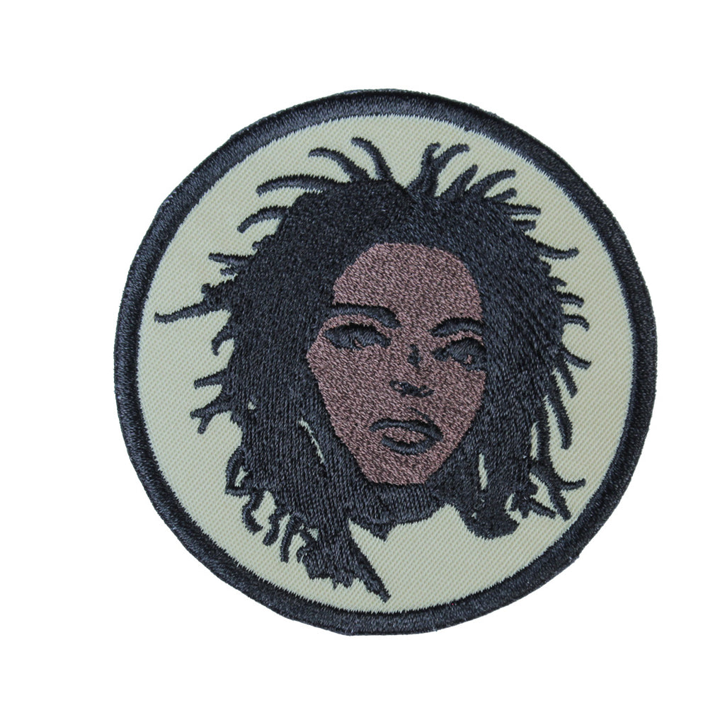 Lauryn Hill Patch - The Carter Brand - Black By Popular Demand - Rooting For Everybody Black - Black Pride Apparel