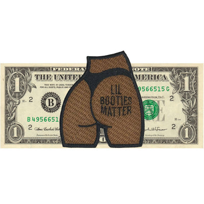 Lil Booties Matter Patch - The Carter Brand - Black By Popular Demand - Rooting For Everybody Black - Black Pride Apparel
