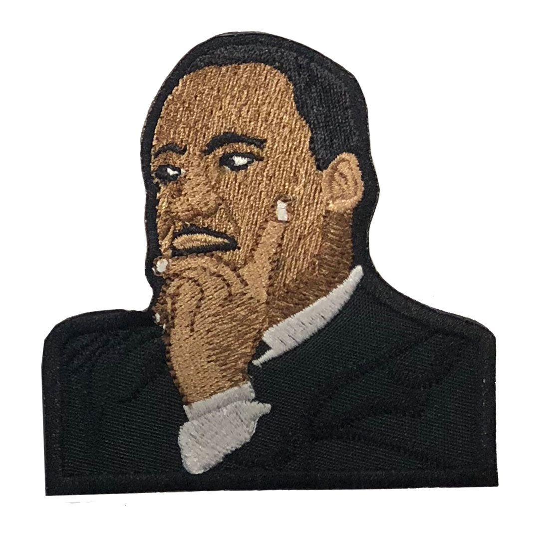 Dr. MLK Jr Patch - The Carter Brand - Black By Popular Demand - Rooting For Everybody Black - Black Pride Apparel
