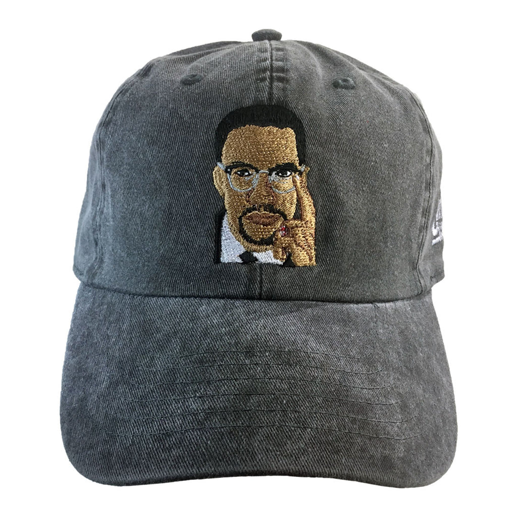 ec2a7bdd671571 Malcolm X Legend Baseball Hat - The Carter Brand - Black By Popular Demand  - Rooting
