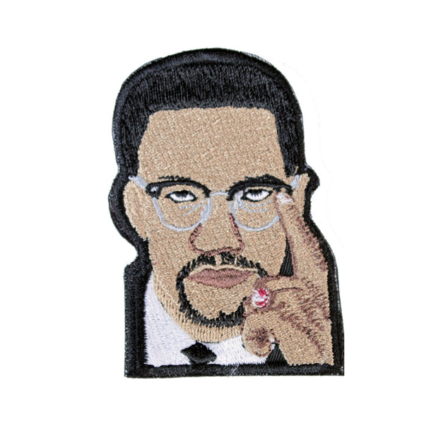 Malcolm X Patch - The Carter Brand - Black By Popular Demand - Rooting For Everybody Black - Black Pride Apparel