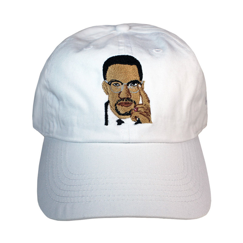 Malcolm X Legend Baseball Hat - The Carter Brand - Black By Popular Demand - Rooting For Everybody Black - Black Pride Apparel
