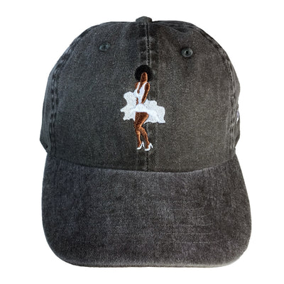 Melanin Monroe Dad Cap - The Carter Brand - Black By Popular Demand - Rooting For Everybody Black - Black Pride Apparel