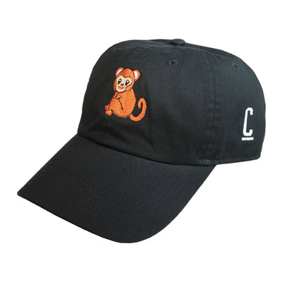 Monkey Emoji Hat - The Carter Brand - Black By Popular Demand - Rooting For Everybody Black - Black Pride Apparel