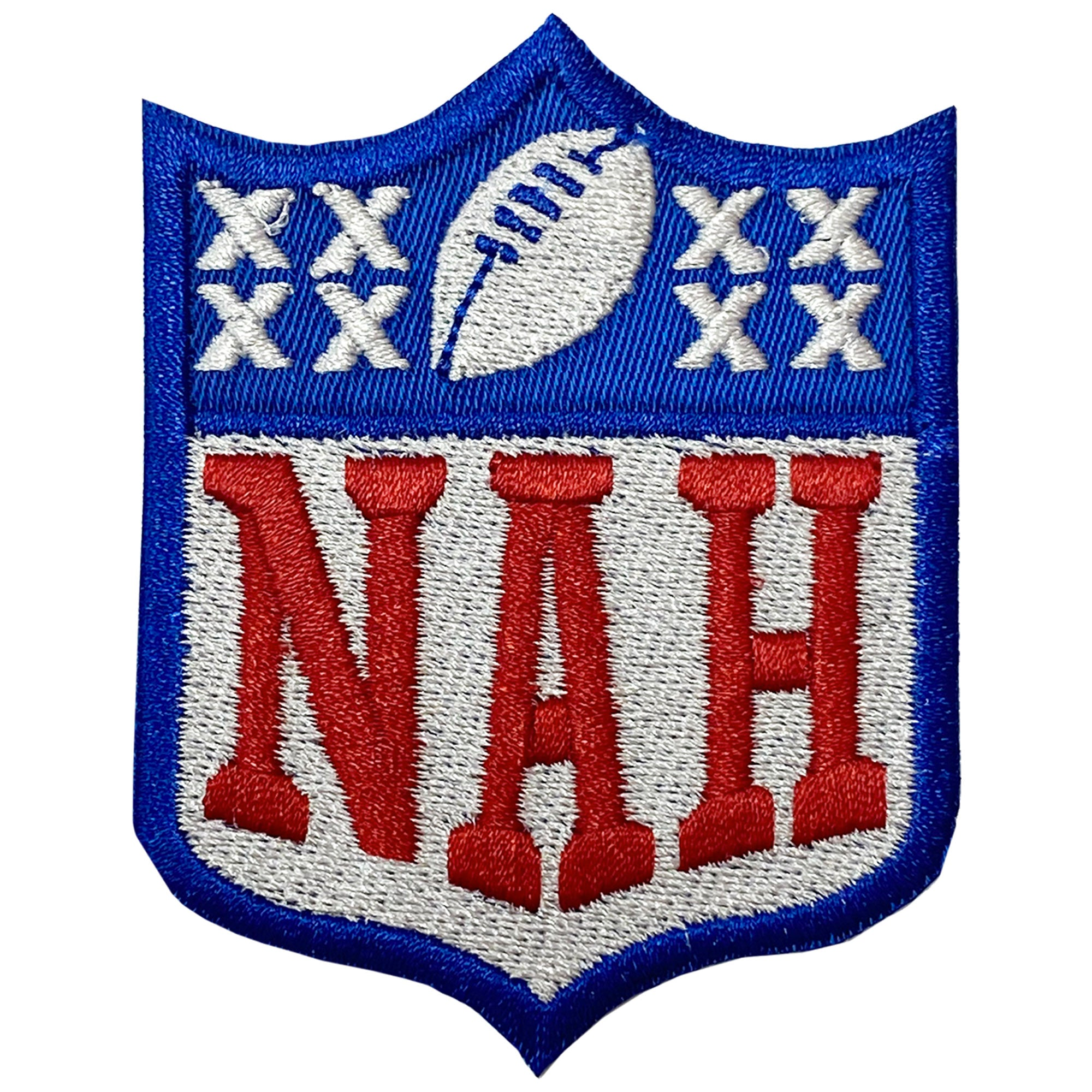 Nah NFL Protest Patch - The Carter Brand - Black By Popular Demand - Rooting For Everybody Black - Black Pride Apparel