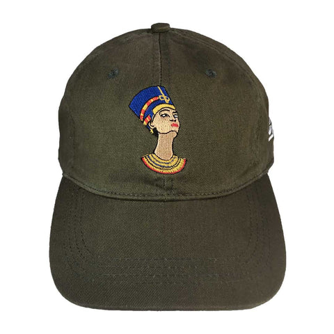 Nefertiti Hat - The Carter Brand - Black By Popular Demand - Rooting For Everybody Black - Black Pride Apparel
