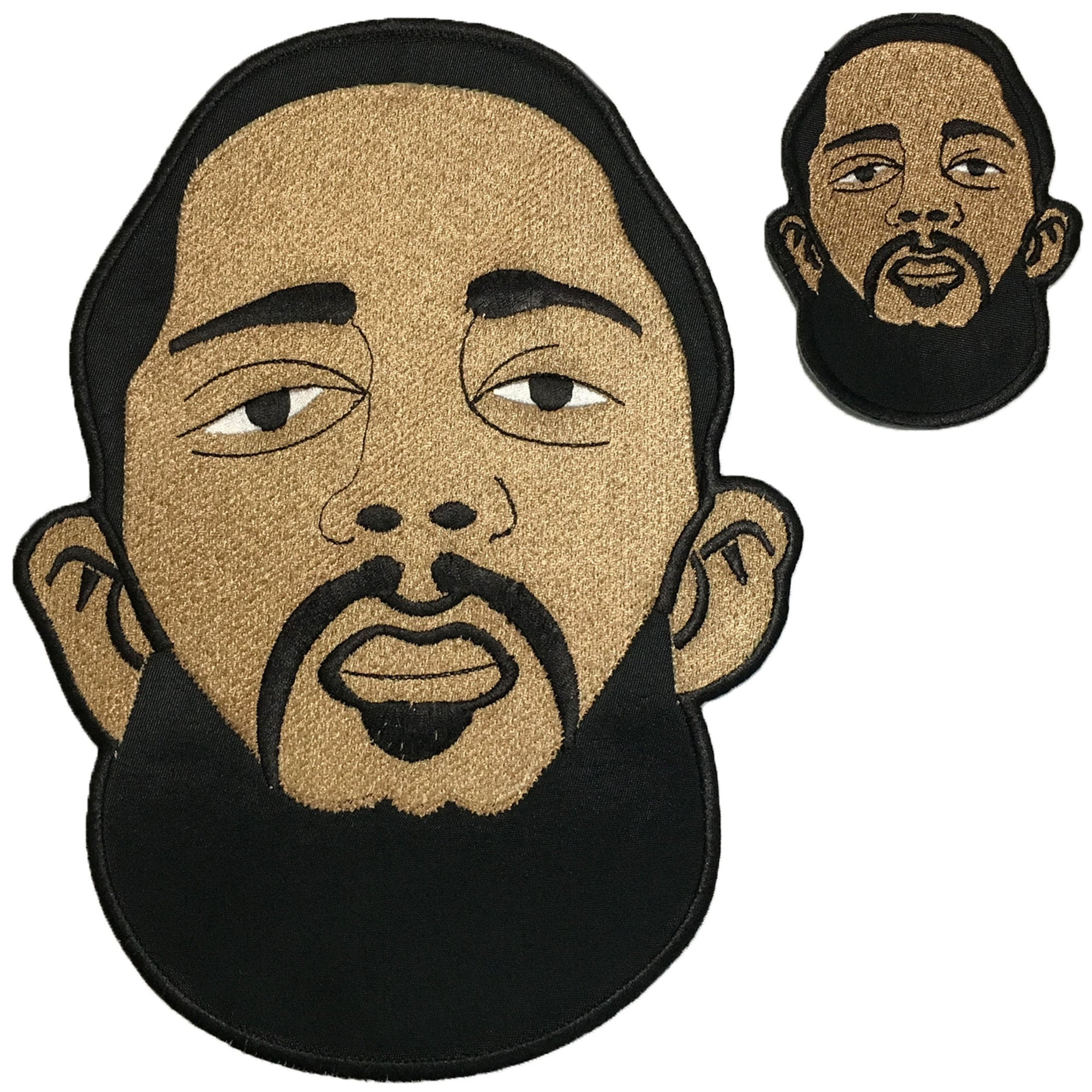 Nipsey Patches - The Carter Brand - Black By Popular Demand - Rooting For Everybody Black - Black Pride Apparel