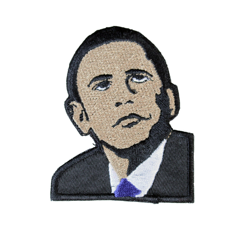 Barack Obama Patch - The Carter Brand - Black By Popular Demand - Rooting For Everybody Black - Black Pride Apparel