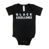 Black Excellence Unisex Infant Onesie - The Carter Brand - Black By Popular Demand - Rooting For Everybody Black - Black Pride Apparel