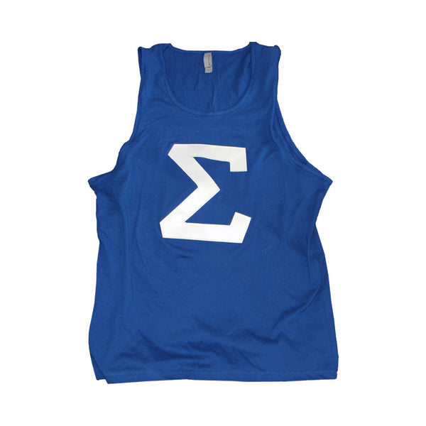 Sigma Tank - The Carter Brand - Black By Popular Demand - Rooting For Everybody Black - Black Pride Apparel
