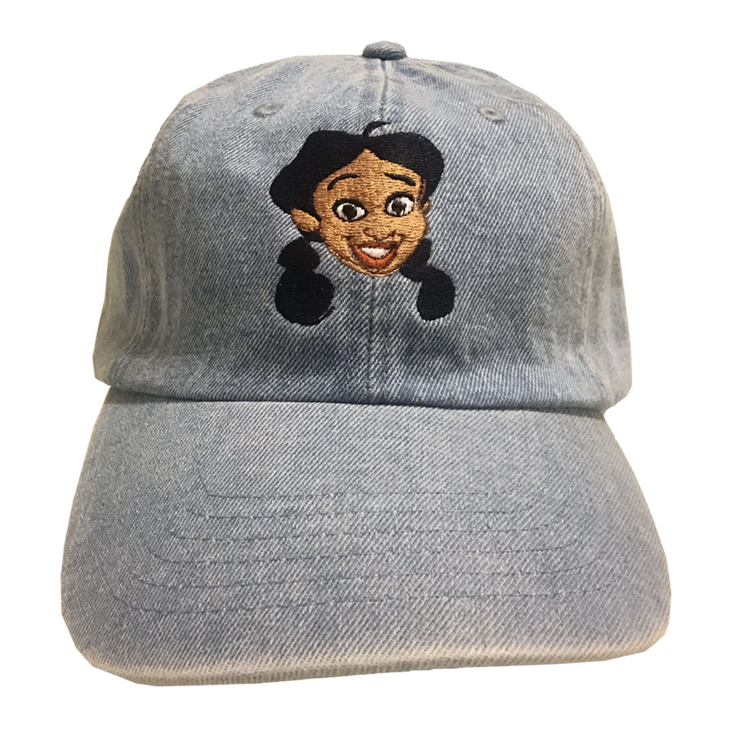 Penny Denim Hat - The Carter Brand - Black By Popular Demand - Rooting For Everybody Black - Black Pride Apparel