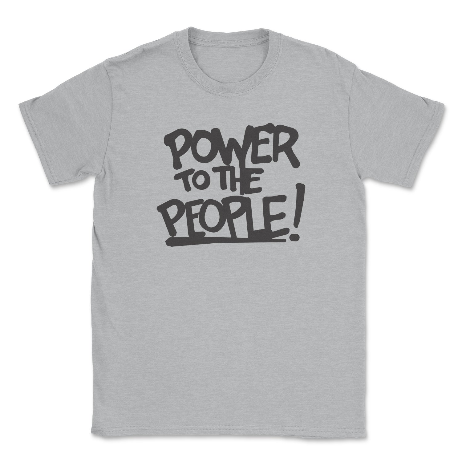 Power To The People Unisex Tee