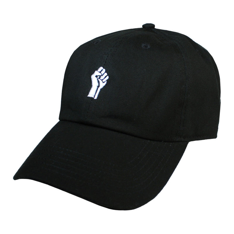 Black Power Fist Cap - The Carter Brand - Black By Popular Demand - Rooting For Everybody Black - Black Pride Apparel