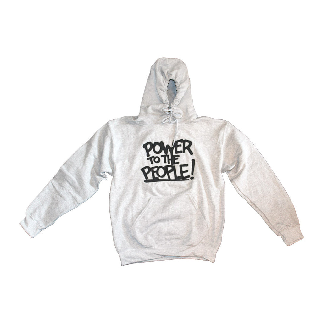 Power to the People Hoodie - The Carter Brand - Black By Popular Demand - Rooting For Everybody Black - Black Pride Apparel