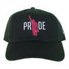 Pride Hat - The Carter Brand - Black By Popular Demand - Rooting For Everybody Black - Black Pride Apparel