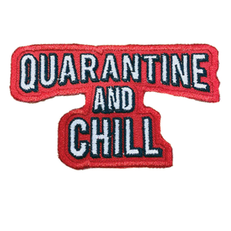 Quarantine & Chill Patch - The Carter Brand - Black By Popular Demand - Rooting For Everybody Black - Black Pride Apparel