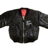Rooting For Everybody Black Unisex Kids Bomber Flight Jacket - The Carter Brand - Black By Popular Demand - Rooting For Everybody Black - Black Pride Apparel