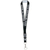 Rooting Lanyard - The Carter Brand - Black By Popular Demand - Rooting For Everybody Black - Black Pride Apparel