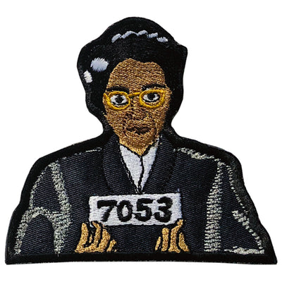Rosa Parks Patch - The Carter Brand - Black By Popular Demand - Rooting For Everybody Black - Black Pride Apparel