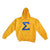 SGRho Hoodie - The Carter Brand - Black By Popular Demand - Rooting For Everybody Black - Black Pride Apparel