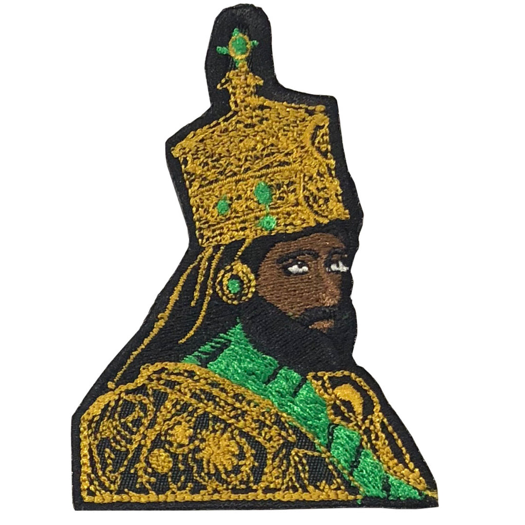 Selassie Patch - The Carter Brand - Black By Popular Demand - Rooting For Everybody Black - Black Pride Apparel