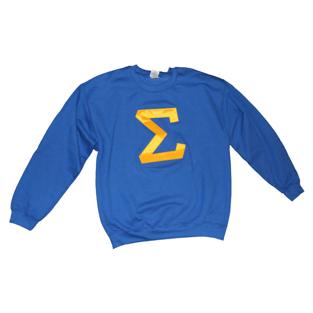 SGRho Crewneck Sweatshirt - The Carter Brand - Black By Popular Demand - Rooting For Everybody Black - Black Pride Apparel