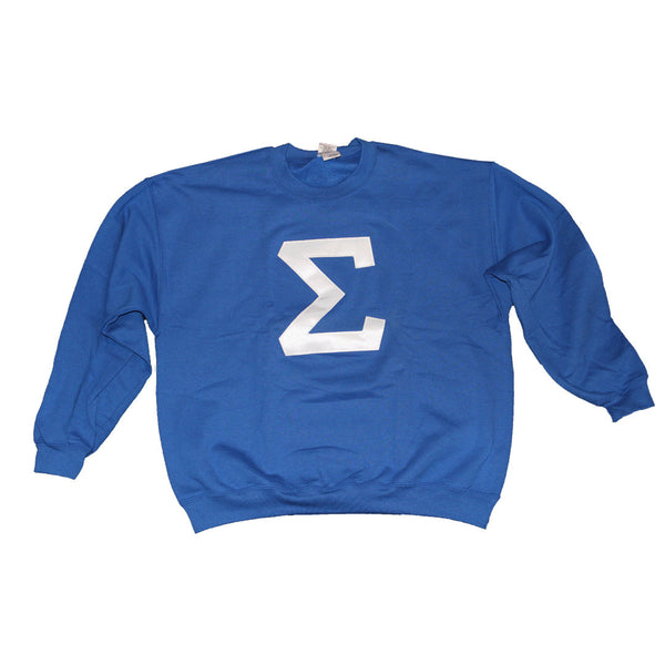 Sigma Crewneck Sweatshirt - The Carter Brand - Black By Popular Demand - Rooting For Everybody Black - Black Pride Apparel