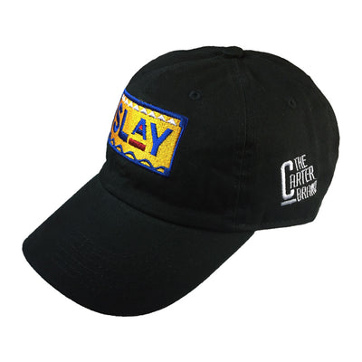 Sorority Slay Hat - The Carter Brand - Black By Popular Demand - Rooting For Everybody Black - Black Pride Apparel