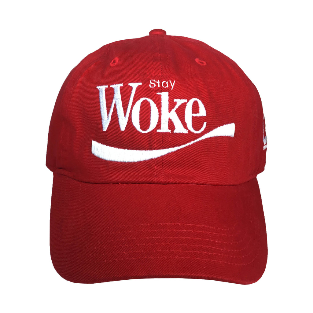 Stay Woke Embroidered Baseball Hat - The Carter Brand - Black By Popular  Demand - Rooting f8fbdba3ed2f