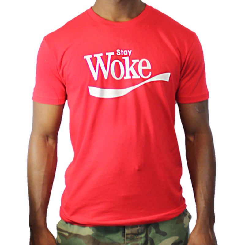 Stay Woke Unisex T-shirt - The Carter Brand - Black By Popular Demand - Rooting For Everybody Black - Black Pride Apparel