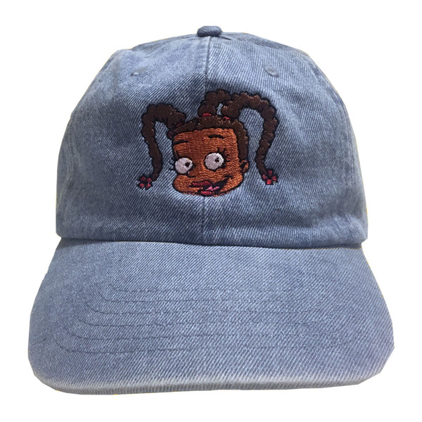 Susie Carmichael Cartoon Embroidered Hat - The Carter Brand - Black By Popular Demand - Rooting For Everybody Black - Black Pride Apparel