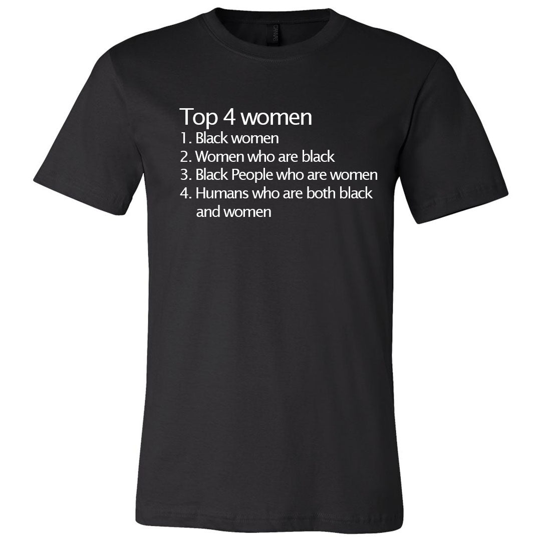 Top 4 Women Unisex T-shirt