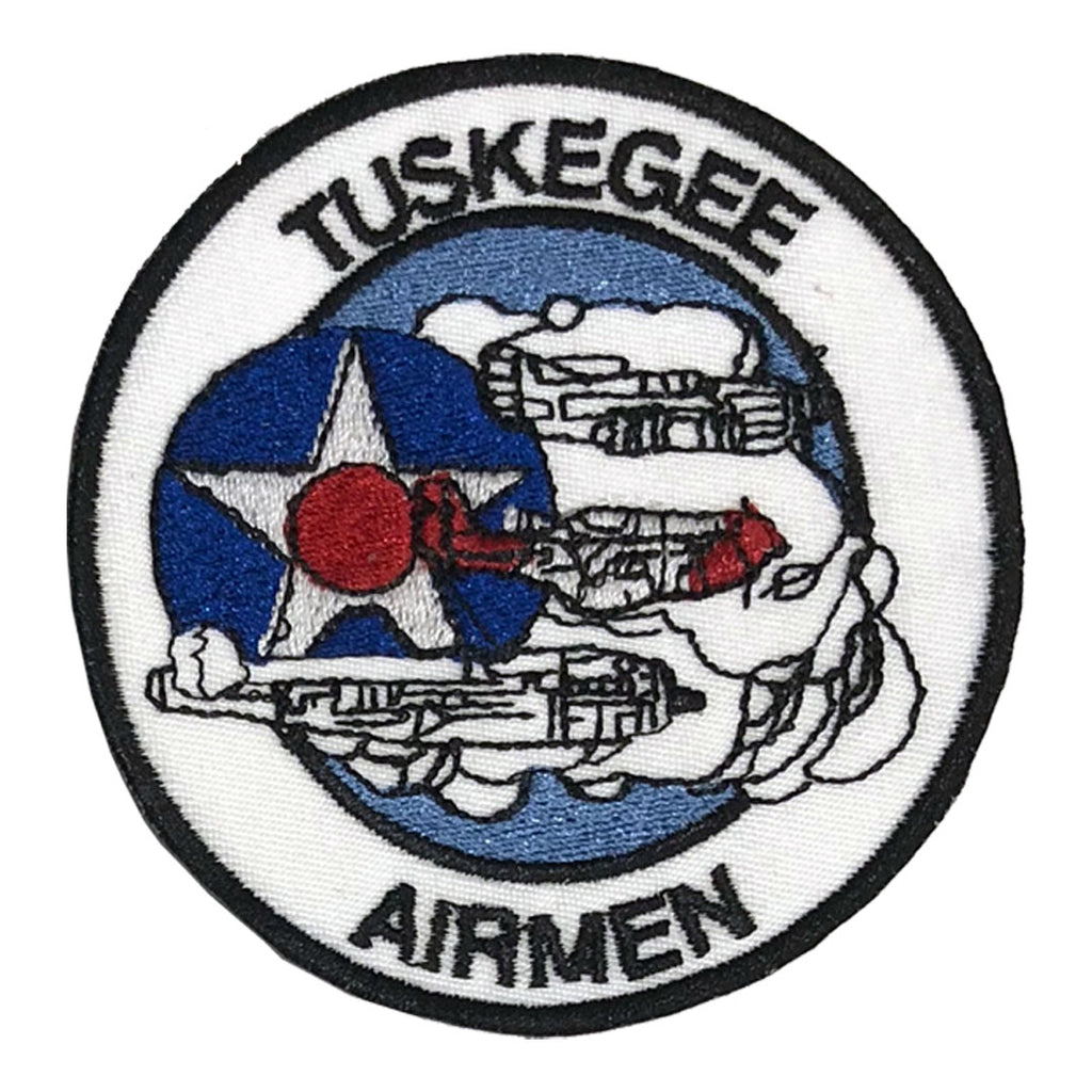 Tuskegee Airmen Patch - The Carter Brand - Black By Popular Demand - Rooting For Everybody Black - Black Pride Apparel