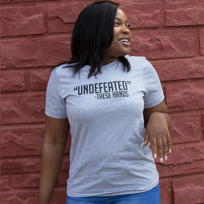 Undefeated Unisex T-Shirt - The Carter Brand - Black By Popular Demand - Rooting For Everybody Black - Black Pride Apparel