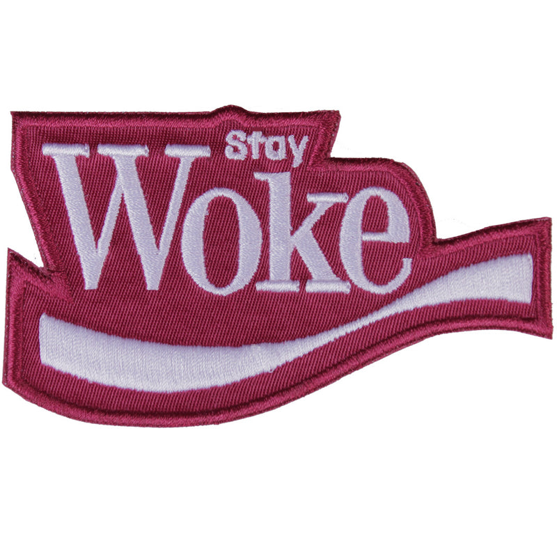 Stay Woke Patch - The Carter Brand - Black By Popular Demand - Rooting For Everybody Black - Black Pride Apparel