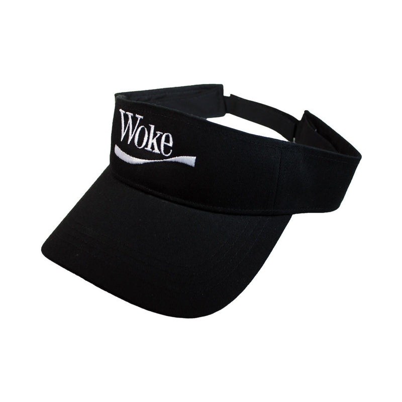 Woke Visor - The Carter Brand - Black By Popular Demand - Rooting For Everybody Black - Black Pride Apparel