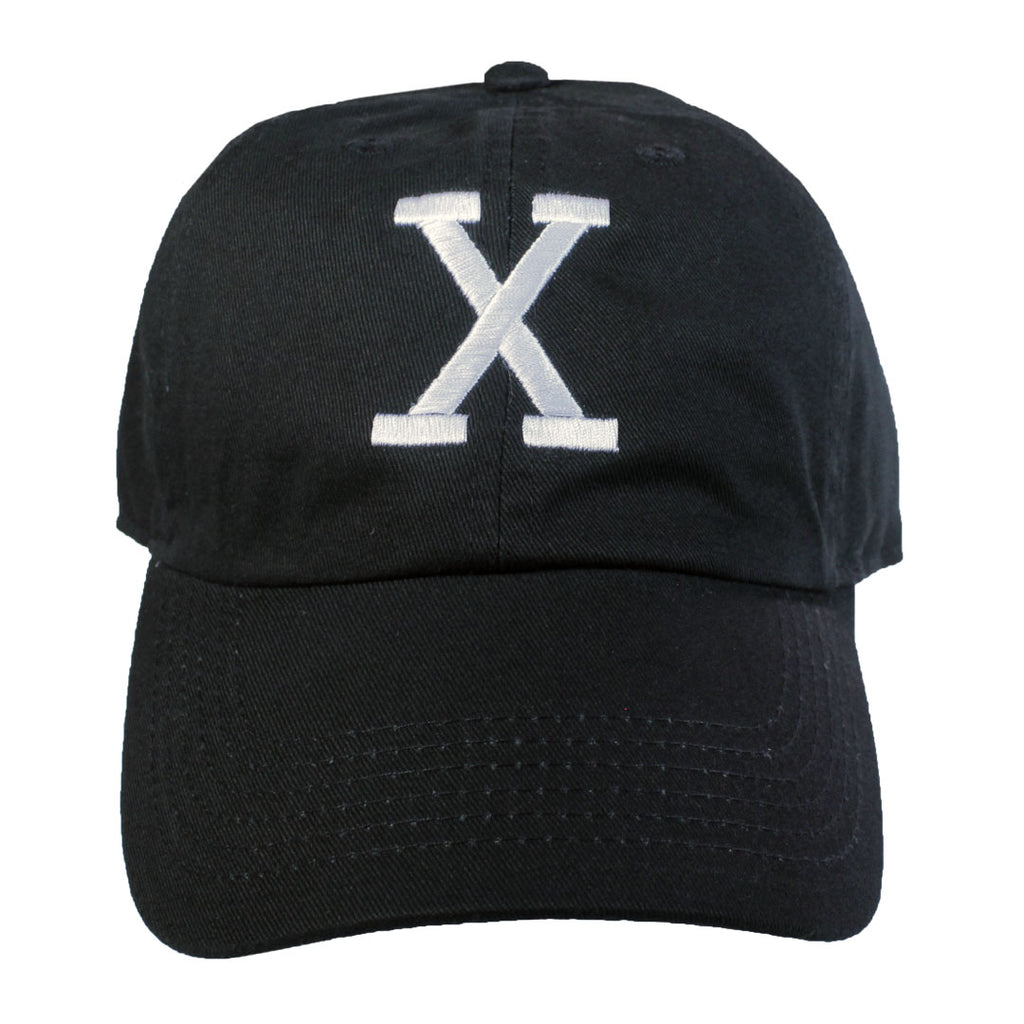 X Embroidered Hat - The Carter Brand - Black By Popular Demand - Rooting For Everybody Black - Black Pride Apparel