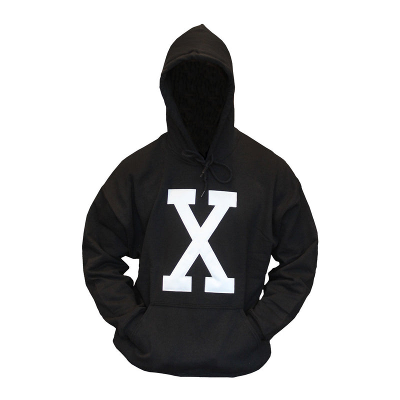 X Hoodie - The Carter Brand - Black By Popular Demand - Rooting For Everybody Black - Black Pride Apparel